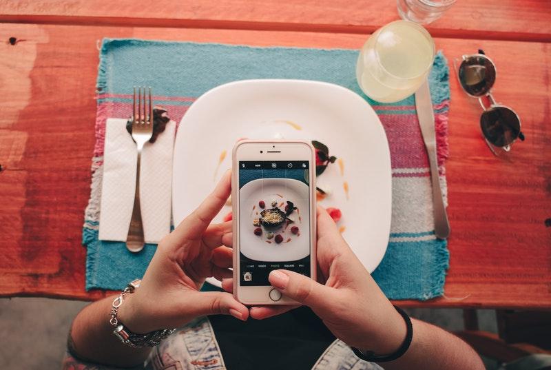 Trendy food for instagram